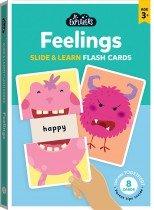 Junior Explorers: Feelings Slide & Learn Flash Cards