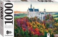 Neuschwanstein Castle in Autumn, Germany