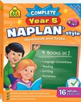 School Zone Complete Year 5 NAPLAN*-style Workbook and Tests