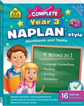 School Zone Complete Year 3 NAPLAN*-style Workbook and Tests