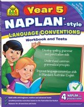 School Zone Year 5 Language Conventions NAPLAN*-style Workbook and Tests