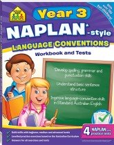 School Zone Year 3 Language Conventions NAPLAN*-style Workbook  and Tests