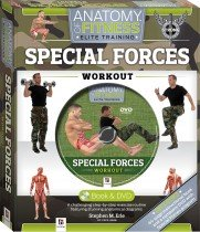 Special Forces Workout Anatomy of Fitness Book and DVD (PAL)