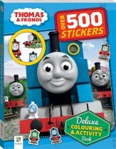 Thomas and Friends Deluxe Colouring and Activity Book