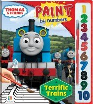 Thomas and Friends Paint by Numbers: Terrific Trains