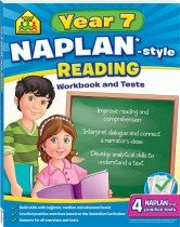 School Zone Year 7 Reading NAPLAN*-style Workbook and Tests