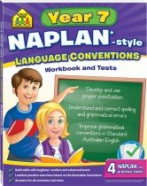 School Zone Year 7 Language Conversions  NAPLAN*-style Workbook and Tests