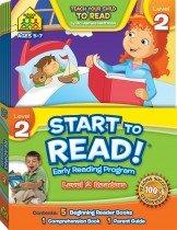 School Zone Start to Read! Level 2 Readers