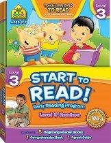 School Zone Start to Read! Level 3 Readers