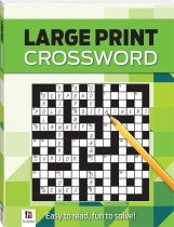 Crossword Large Print Puzzles Series 4