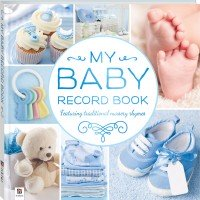 Baby Record Book Blue