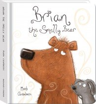 Brian the Smelly Bear Padded Board Book