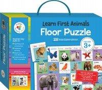My First Animals Building Blocks Floor Puzzles