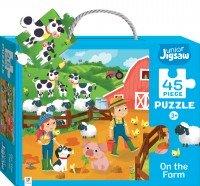 Junior Jigsaw: On The Farm (large)