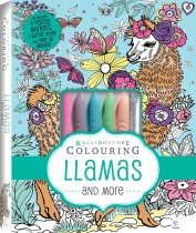 Kaleidoscope Colouring Pastel Kit: Llamas and More