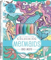 Kaleidoscope Colouring Pastel Kit: Mermaids and More