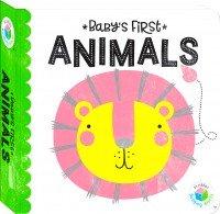 Building Blocks Neon Baby's First Animals