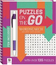 Puzzles on the Go: Word Search 1 Series 7