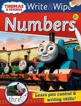 Thomas Write & Wipe: Numbers