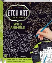 Kaleidoscope Etch Art Creations: Wild Animals and More