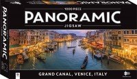 1000 Piece Panoramic Jigsaw Puzzle Grand Canal, Venice, Italy