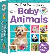 My First Puzzle Blocks: Baby Animals
