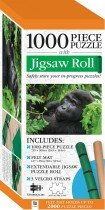Jigsaw Roll with 1000-Piece Puzzle: Gorilla