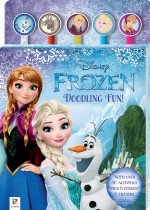 Disney Frozen 5-Pencil and Eraser Set