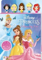 Disney Princess 5-Pencil and Eraser Set