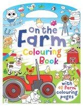 On the Farm Colouring Book