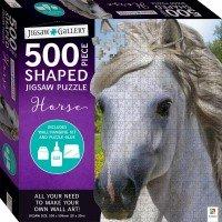 Jigsaw Gallery 500-piece Shaped Jigsaw: Horse