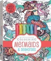 Kaleidoscope Colouring: Mermaids and Seahorses