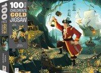 100-Piece Children's Gold Jigsaw: Pirate Treasure