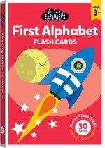 Junior Explorers: First Alphabet Flash Cards (large format)