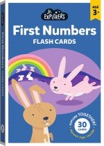 Junior Explorers: First Numbers Flash Card (large format)
