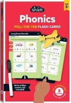 Junior Explorers: Phonics Pull-the-Tab Flash Cards