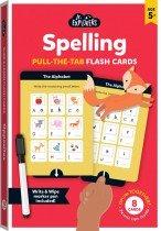 Junior Explorers: Spelling Pull-the-Tab Flash Cards