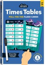 Junior Explorers: Times Table Pull-the-Tab Flash Cards