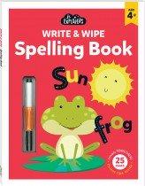 Junior Explorers Write and Wipe: Spelling Book