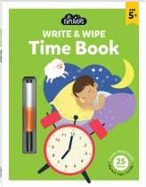 Junior Explorers Write and Wipe: Time Book