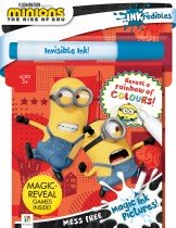 Inkredibles Minions: The Rise of Gru Magic Ink Pictures