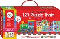 Building Blocks Puzzle Train: 123