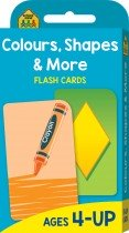 School Zone Colours, Shapes and More Flash Cards