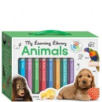Building Blocks Learning Library Animals