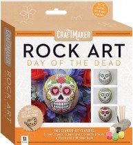 Craftmaker Rock Art: Day of the Dead