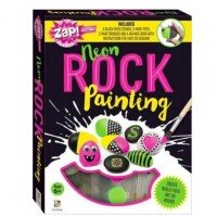 Zap! Extra Neon Rock Painting