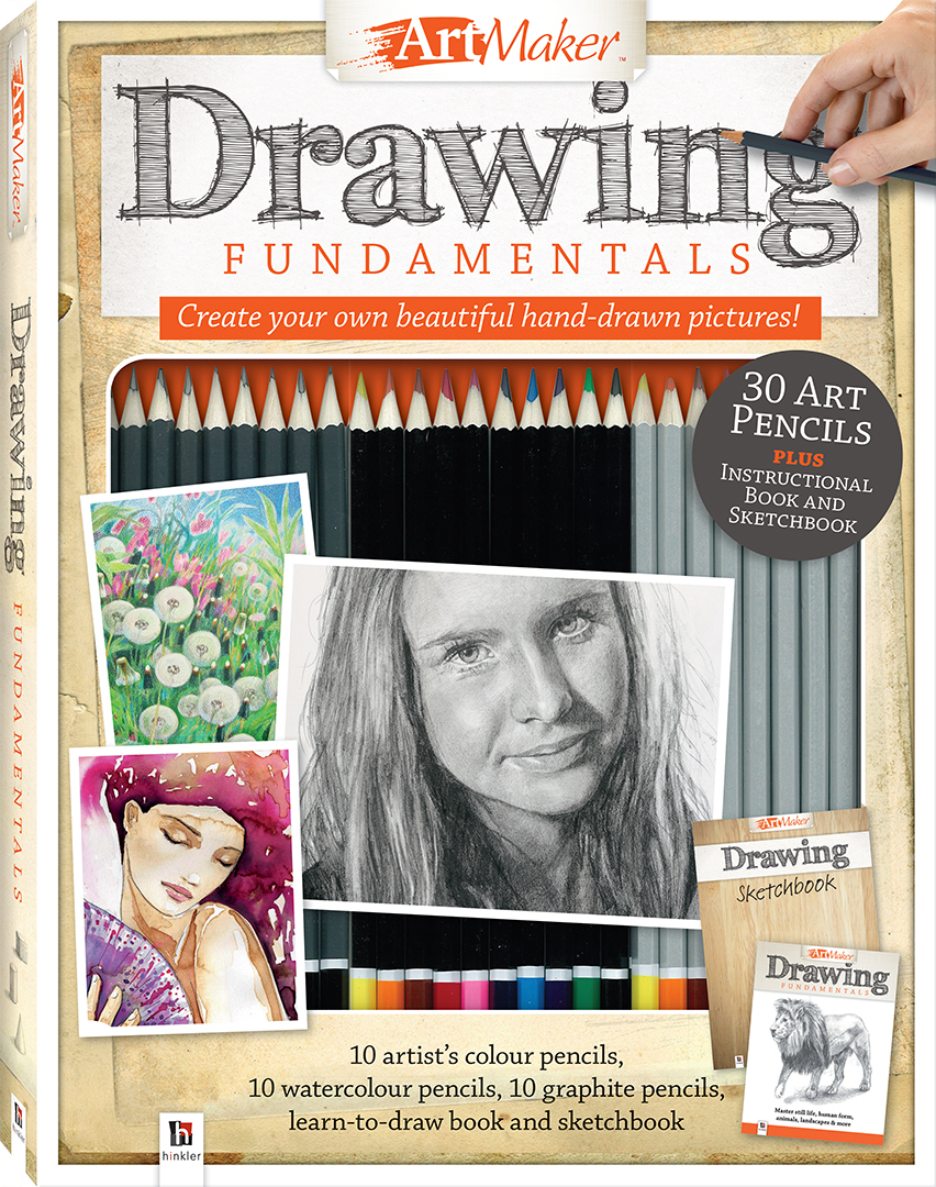 Art Maker Drawing Fundamentals Kit - Gift Sets - Adults - Hinkler